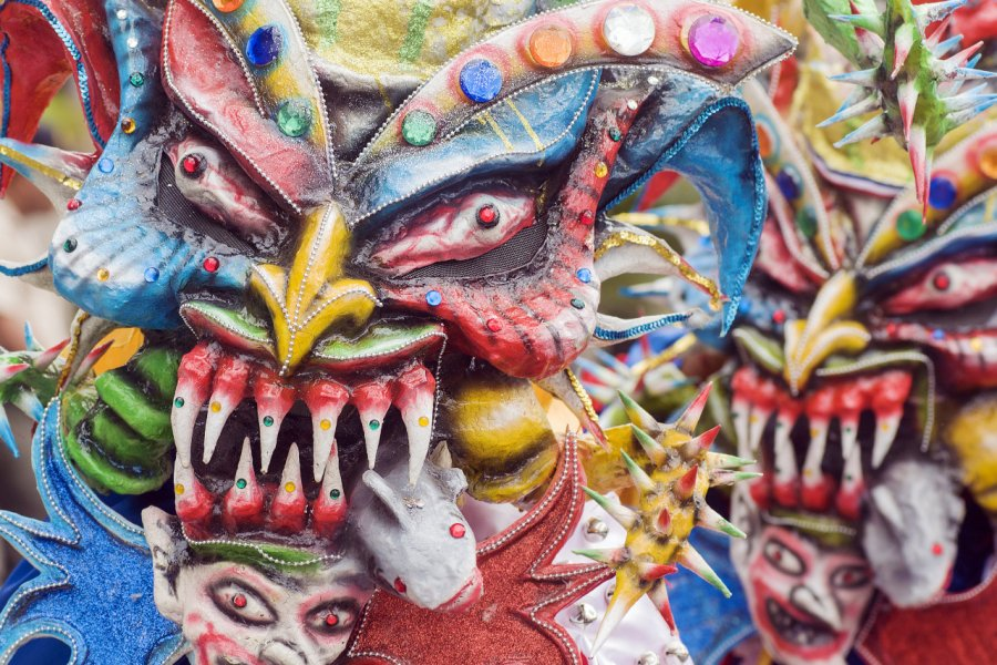 Carnaval de Santo Domingo. (© Daniel-Alvarez - Shutterstock.com))