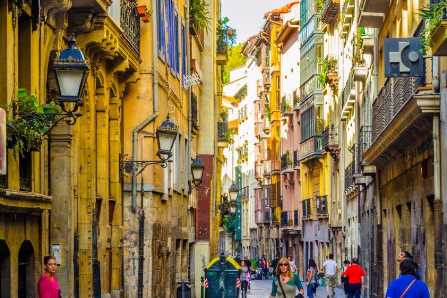 Balade dans les ruelles de Bilbao. (© trabantos - Shutterstock.com))