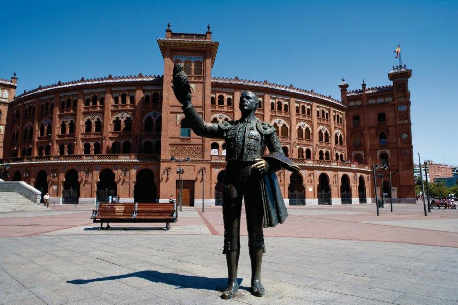 Plaza de Toros de Las Ventas, statue représentant le matador José Cubero. (© Philippe GUERSAN - Author's Image))