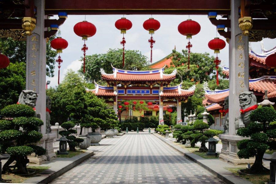 Monastère Lian Shan Shuang Lin. (© PirahaPhotos - Shutterstock.com))