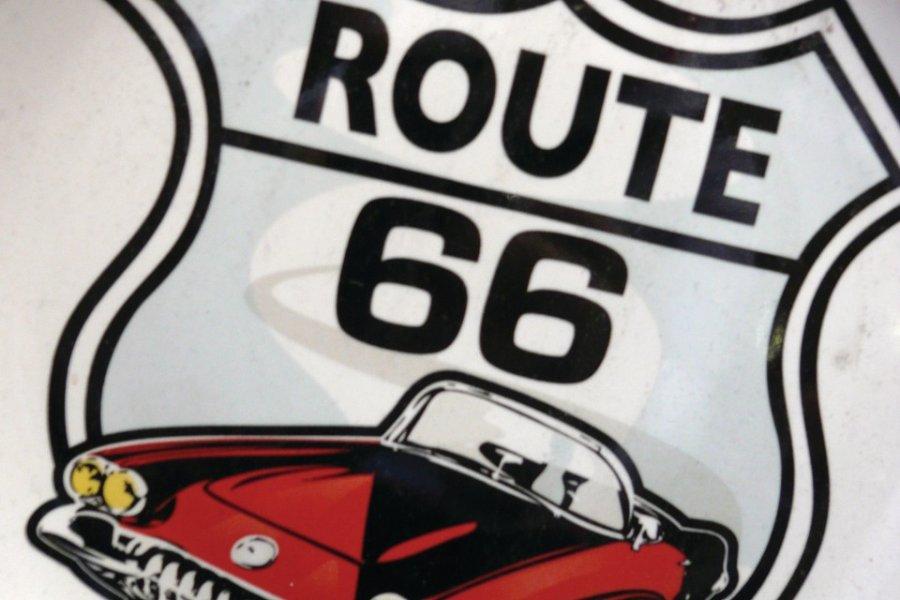 Souvenir de la route 66. (© Stéphan SZEREMETA))