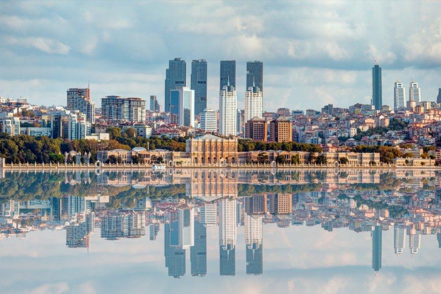 Vue générale d'Istanbul. (© muratart))