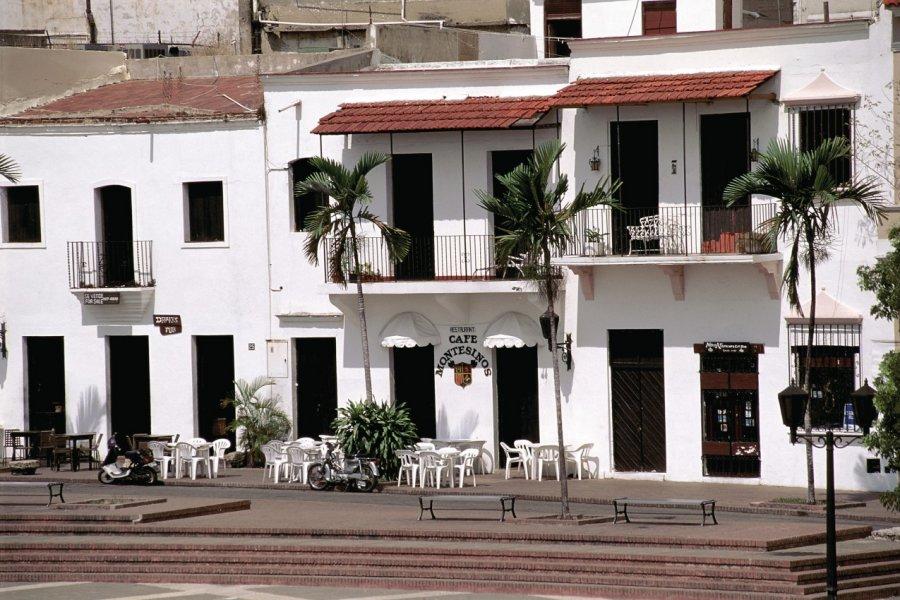 Café sur la place de l'Alcazar de Colón. (© Author's Image))