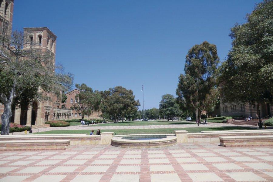 L'université de UCLA. (© Daphné DELGRANGE MATHIEU))