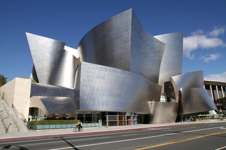 Le Walt Disney Concert Hall. (© Stéphan SZEREMETA))