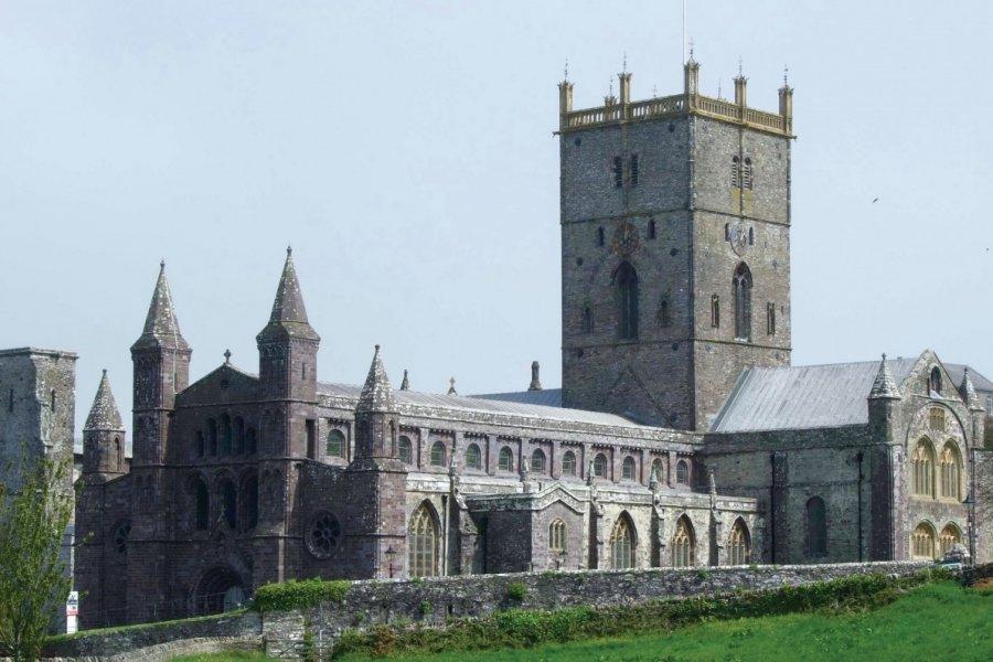 Cathédrale de saint David, la plus grande église du Pays de Galles. (© Muriel PARENT))