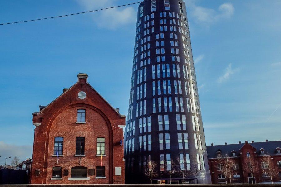 Tour Bleue de Charleroi. (© SophieOst - shutterstock.com))