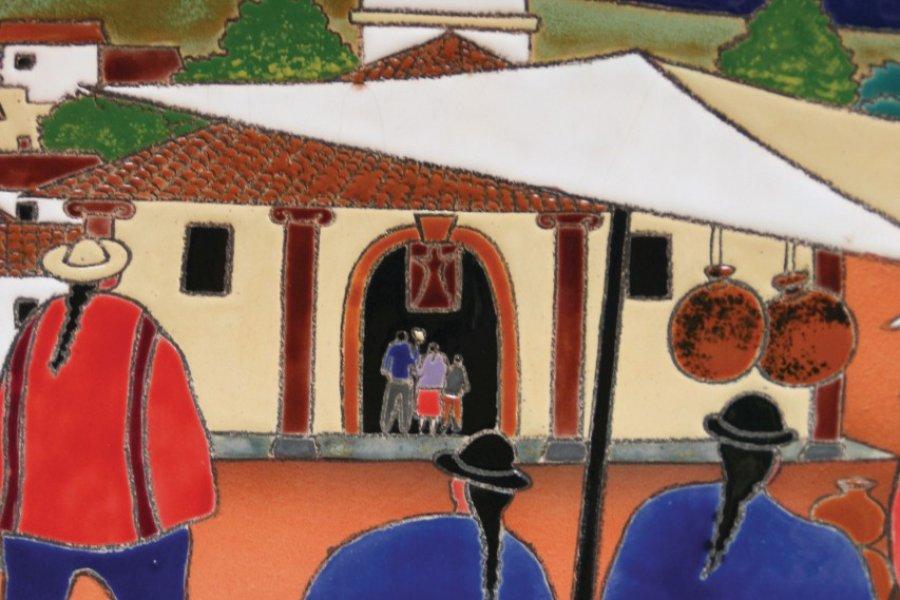 La céramique, une tradition artisanale de Cuenca. (© Stéphan SZEREMETA))