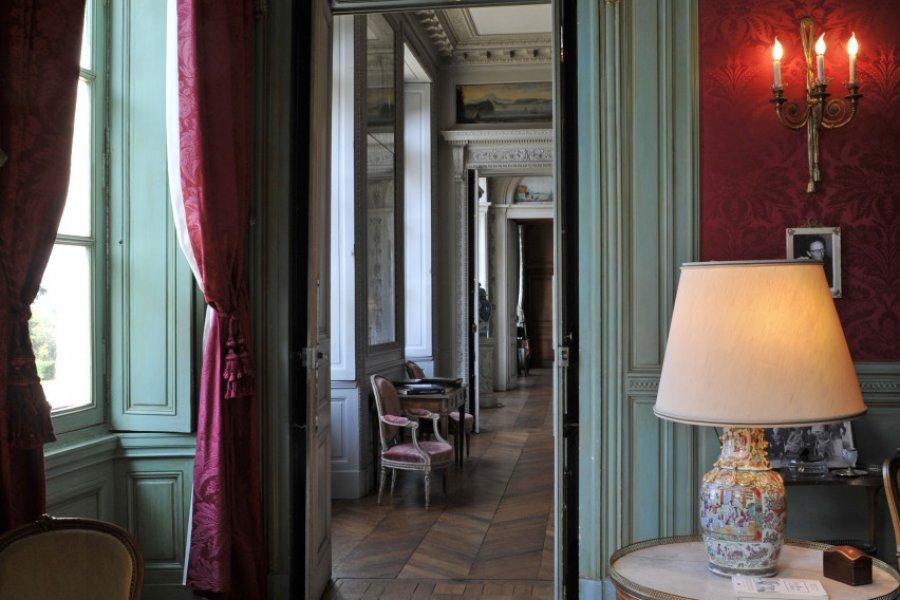 Enfilade des salons. (© LE CHÂTEAU DE CRAON ET SON PARC))