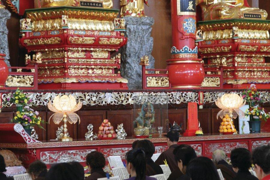 Temple de Puuh Jih Shih (© Stéphan SZEREMETA))