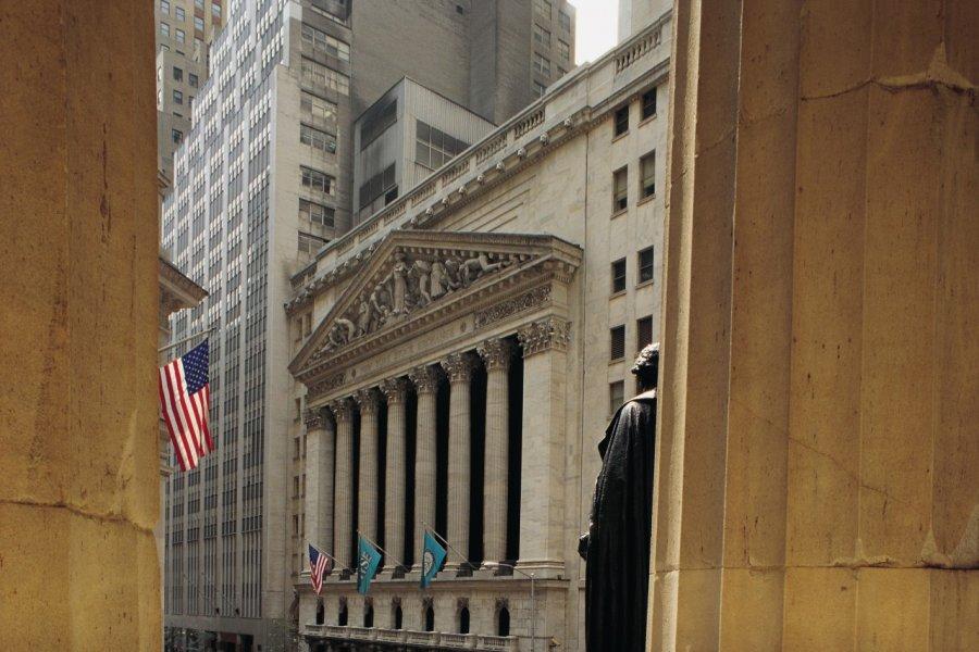 Wall Street, le temple grec du