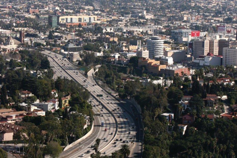 Vue panoramique sur Los Angeles. (© Stéphan SZEREMETA))