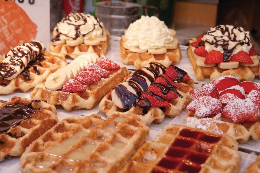 Les gauffres, une des spécialités de Bruxelles. (© Author's Image))