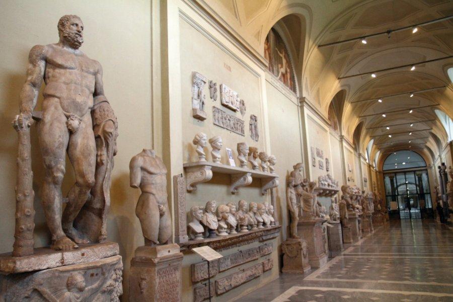 Musée Pio-Clementino dédié à la sculpure grecque, romaine et classique aux musées du Vatican. (© Stéphan SZEREMETA))