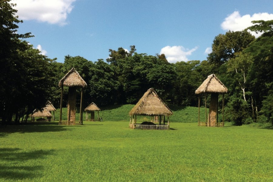 Site de Quirigua. (© Abdesslam Benzitouni))