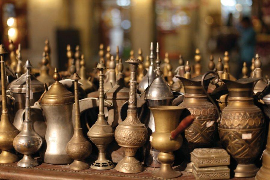 Souvenirs du souq Waqif. (© Philipus - Fotolia))
