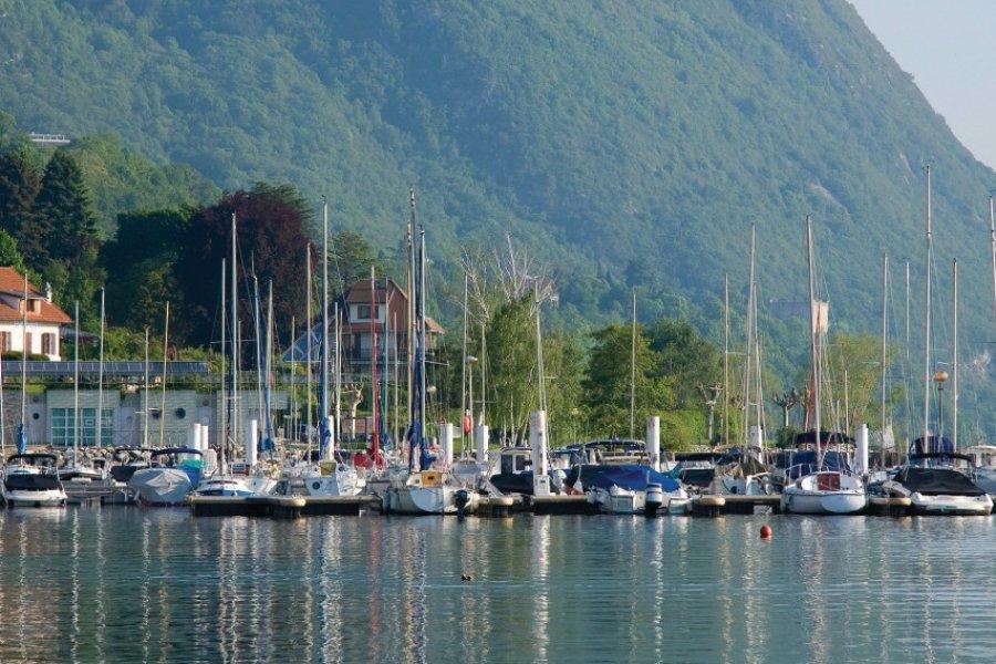 Le port du lac du Bourget (© Aurélien ANTOINE - Fotolia))