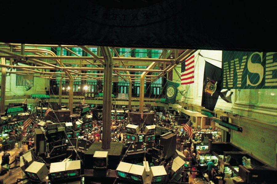 La Bourse la plus connue au monde. (© Tom Pepeira - Iconotec))