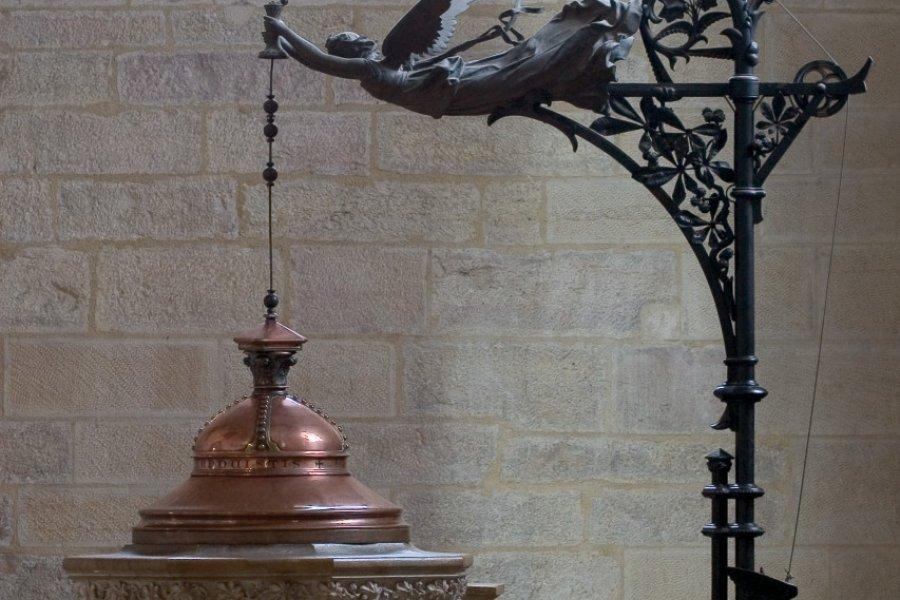 Le baptistère. (© CATHÉDRALE SAINT-BÉNIGNE))