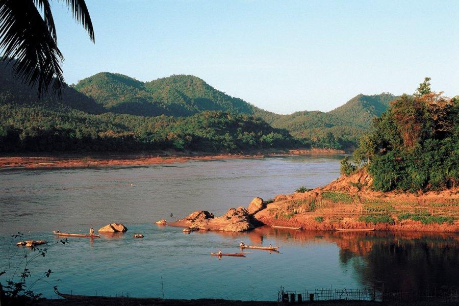 Vue du Mékong. (© Author's Image))