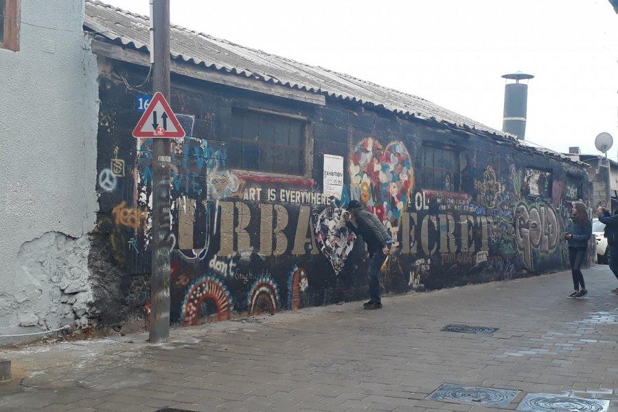 Street art dans le sud de Tel Aviv. (© Alexandra VARDI))