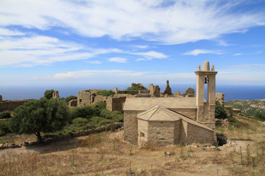 Village abandonné d'Occi. (© Cyrilest))