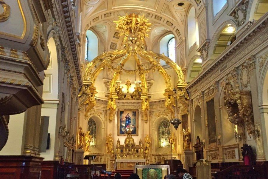 Basilique-cathédrale Notre-Dame de Québec. (© Valérie FORTIER))