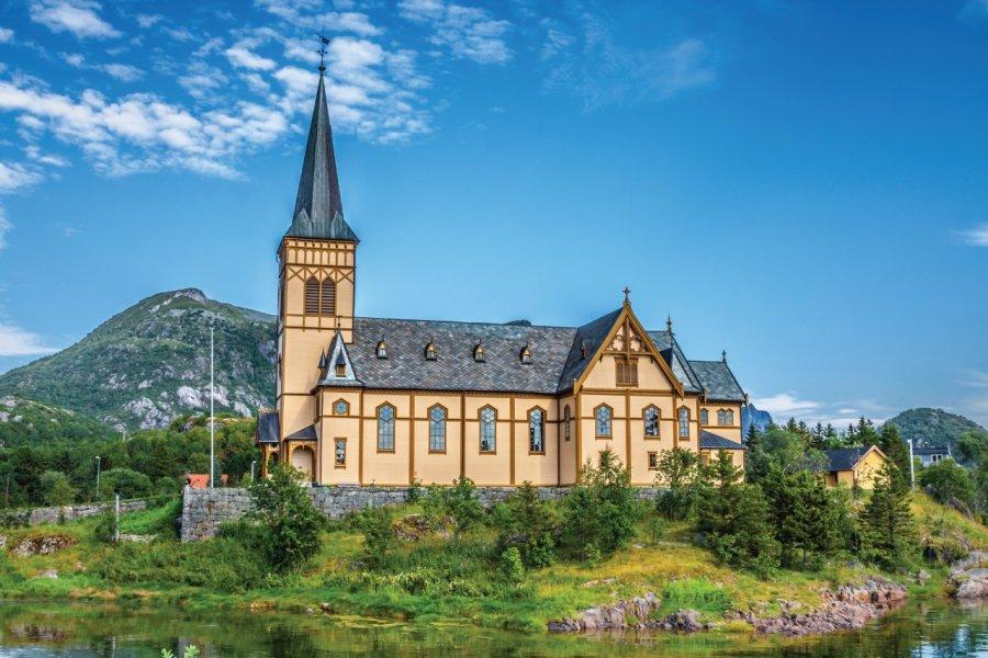 Eglise de Kabelvag. (© Lukasz - iStockphoto))