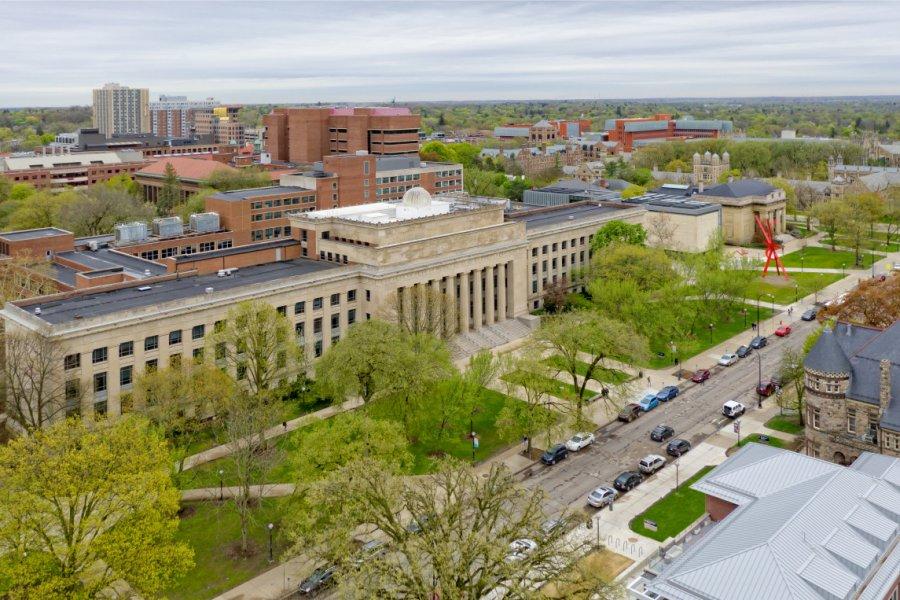 Université du Michigan. (© Agnieszka Gaul - Shutterstock.com))