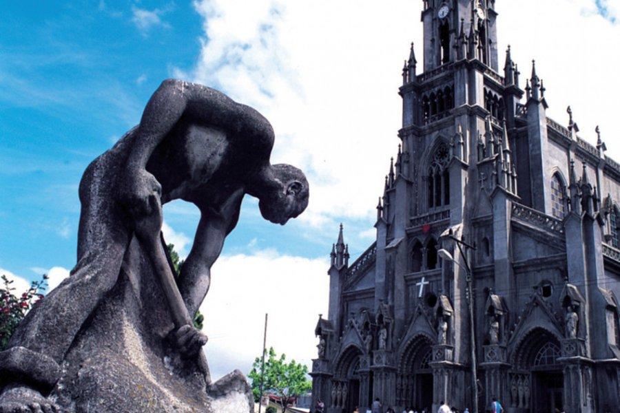 Sculpture à San José (© ICT (Institut Costaricien de Tourisme)))