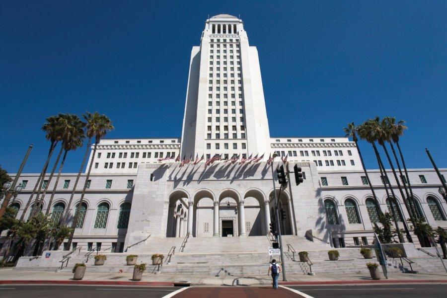 Los Angeles City Hall. (© Livingpix - iStockphoto.com))