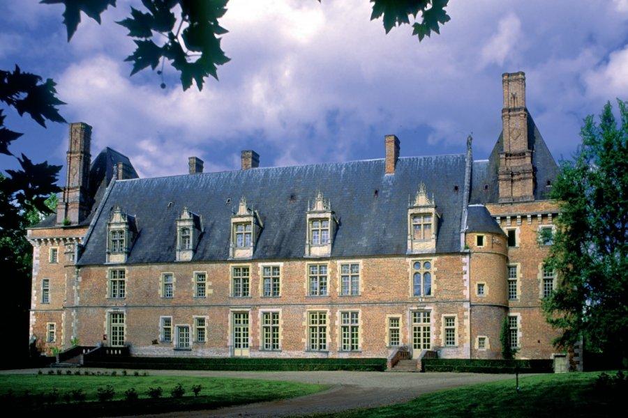 Château de Saint-Amand-en-Puisaye (© VALÉRY D'AMBOISE))