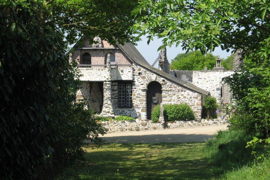 Maison d'habitation de Robert Tatin. (© Musée Robert Tatin))