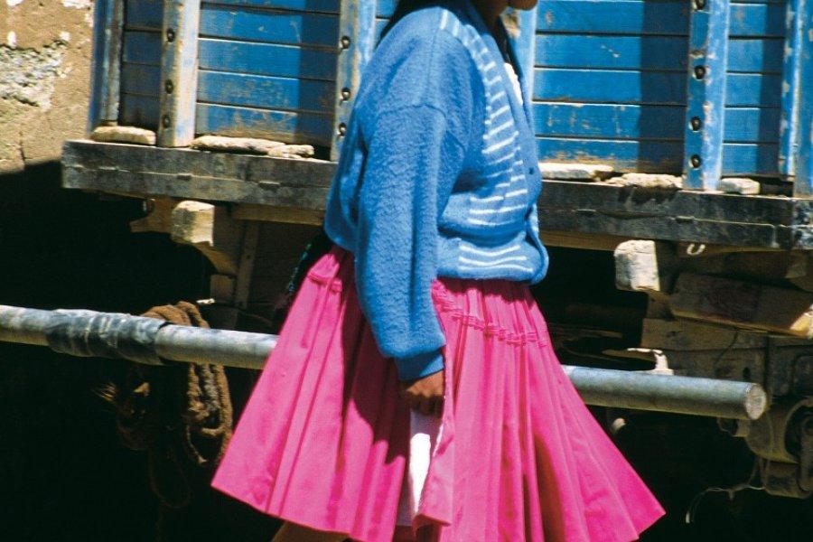 Femme de Quetena Chico. (© Sylvie LIGON))