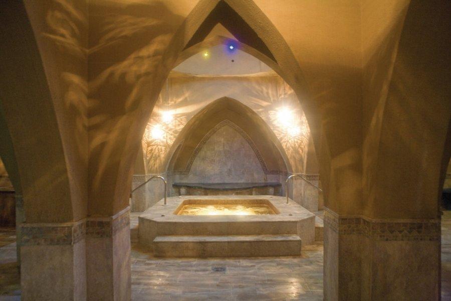 Intérieur d'un hammam à Amman. (© Tom Pepeira - Iconotec))