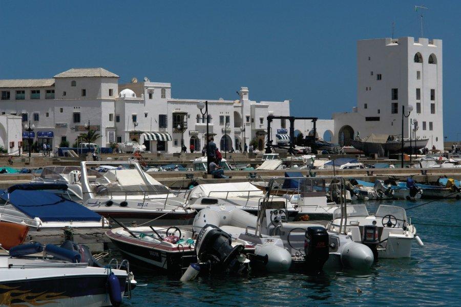 Le port de plaisance de Sidi-Fredj. (© Sébastien CAILLEUX))