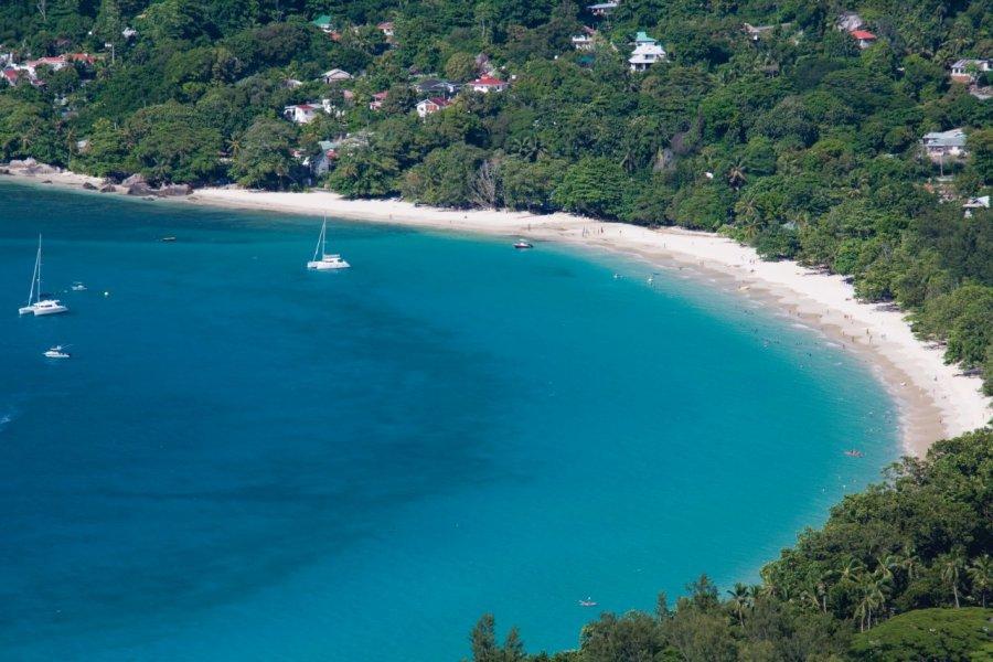 Plage de Beau Vallon. (© Gerard Larose - Office du tourisme des Seychelles))