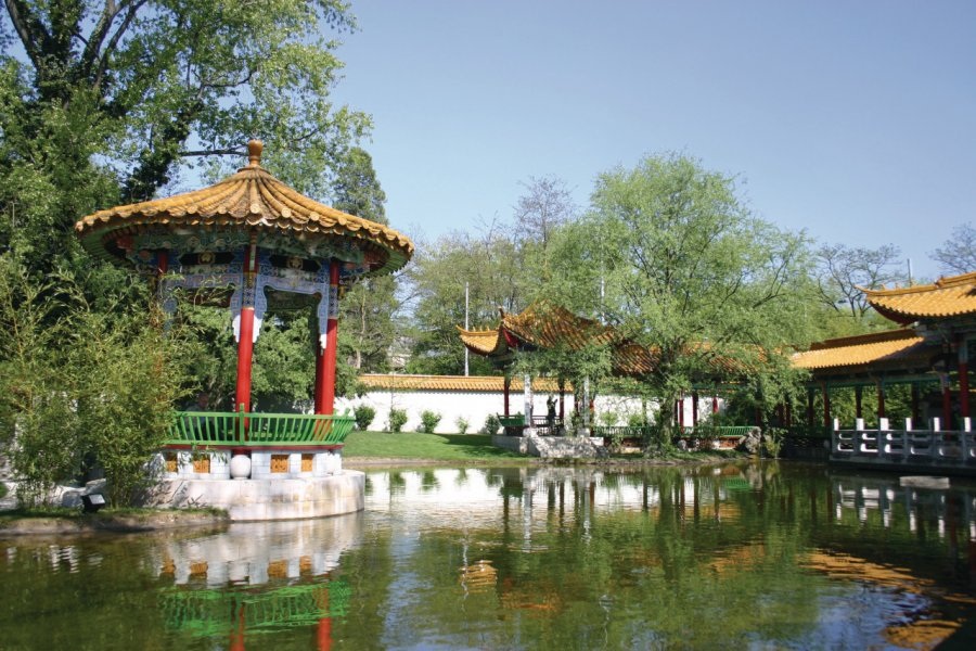 Jardin chinois. (© Ségolène Roze - Fotolia))