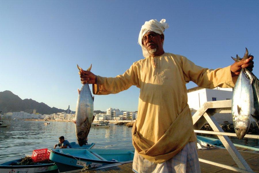 Marché au poisson de Mutrah, Mascate. (© OT Oman))