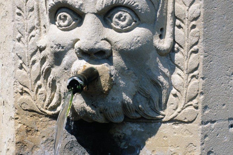 Fontaine ornée d'une tête (© Irène ALASTRUEY - Author's Image))