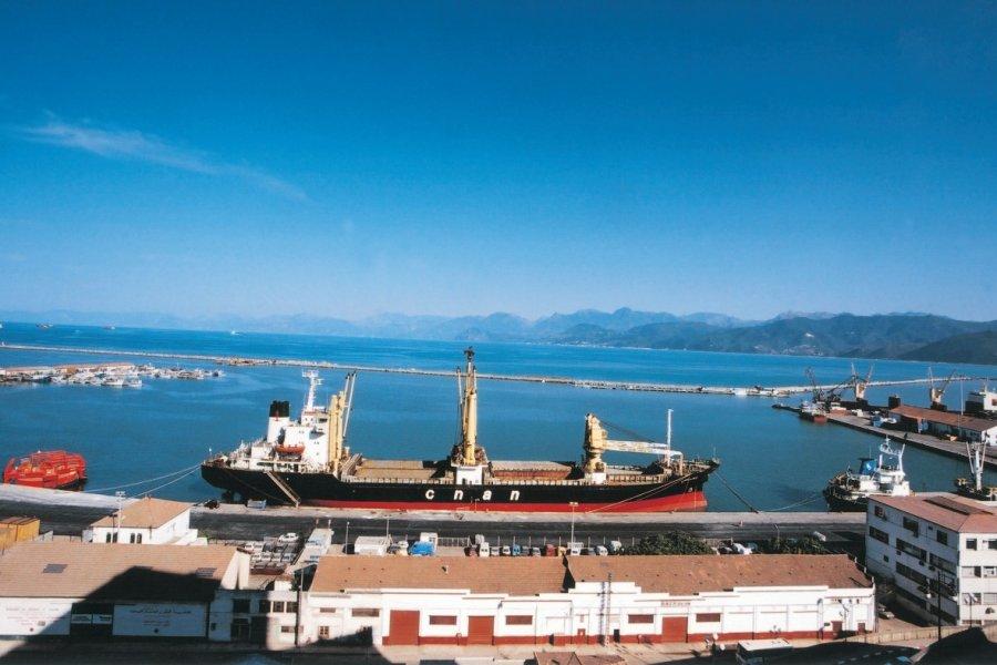 Le port de Bejaïa. (© Sébastien CAILLEUX))