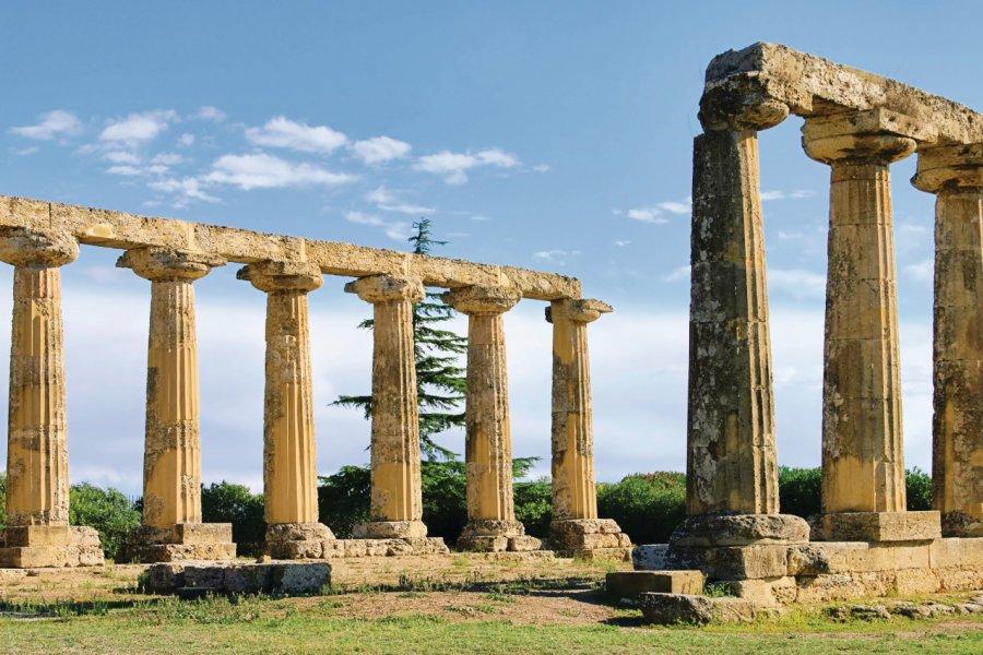Temple d'Héra au Parco Archeologico delle Tavole Palatine. (© LianeM - Fotolia))