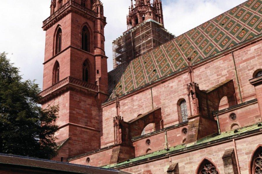 Le cloître de la cathédrale de Bâle. (© Philippe GUERSAN - Author's Image))