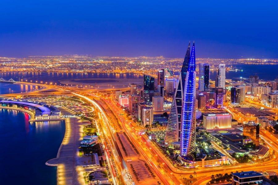 Vue sur la ville de Manama. (© PREJU SURESH / Shutterstock.com))