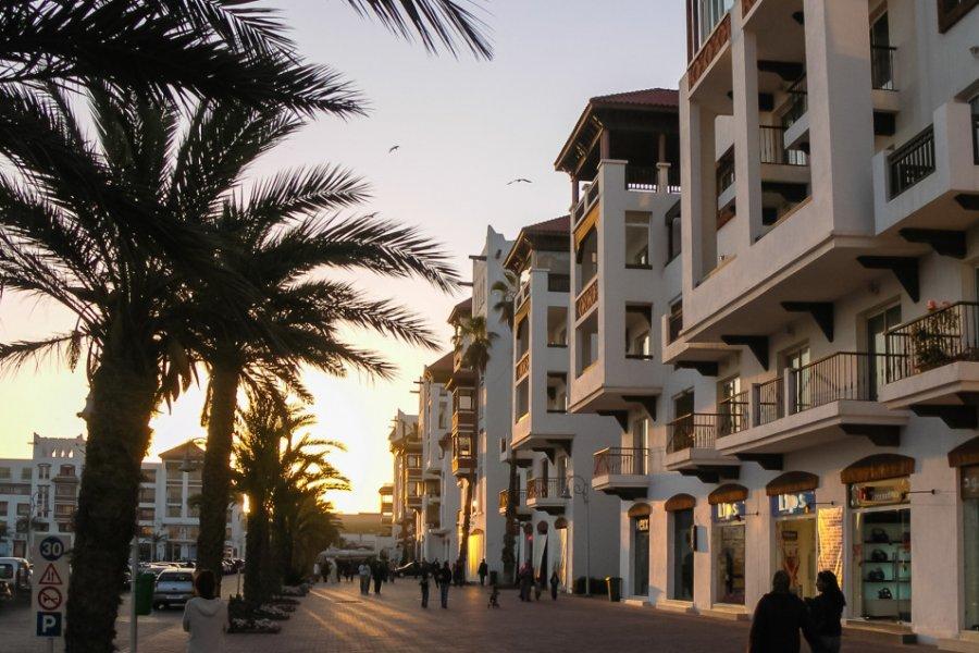 Quartier de la marina à Agadir. (© Alexey Kotikov - Shutterstock.com))