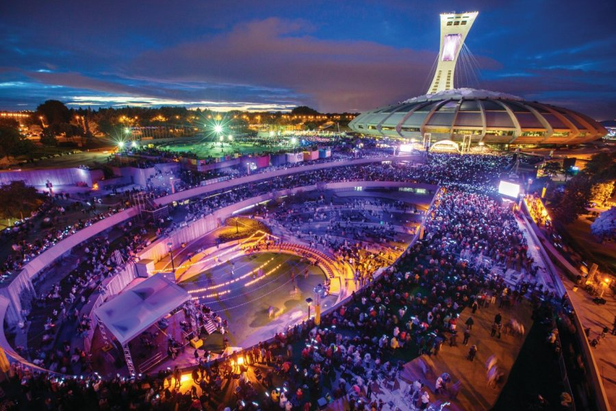 Concert annuel de l'Orchestre symphonique de Montréal sur l'Esplanade. (© PARC OLYMPIQUE))