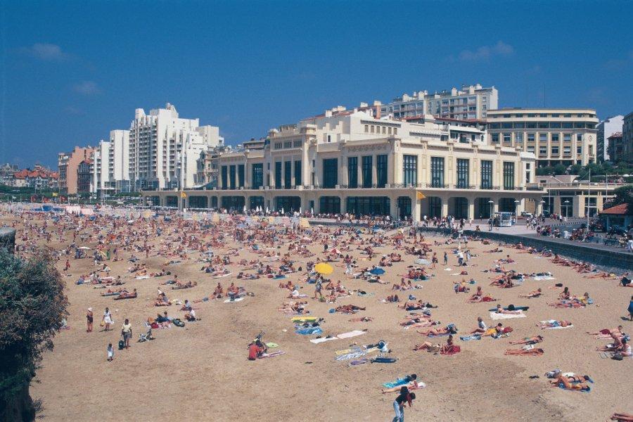 Plage de Biarritz (© MARC AUGER - ICONOTEC))