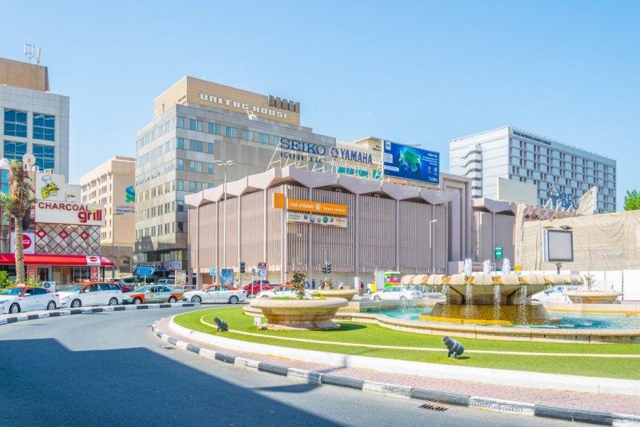 Quartier de Bab Al Bahrain. (© trabantos / Shutterstock.com))