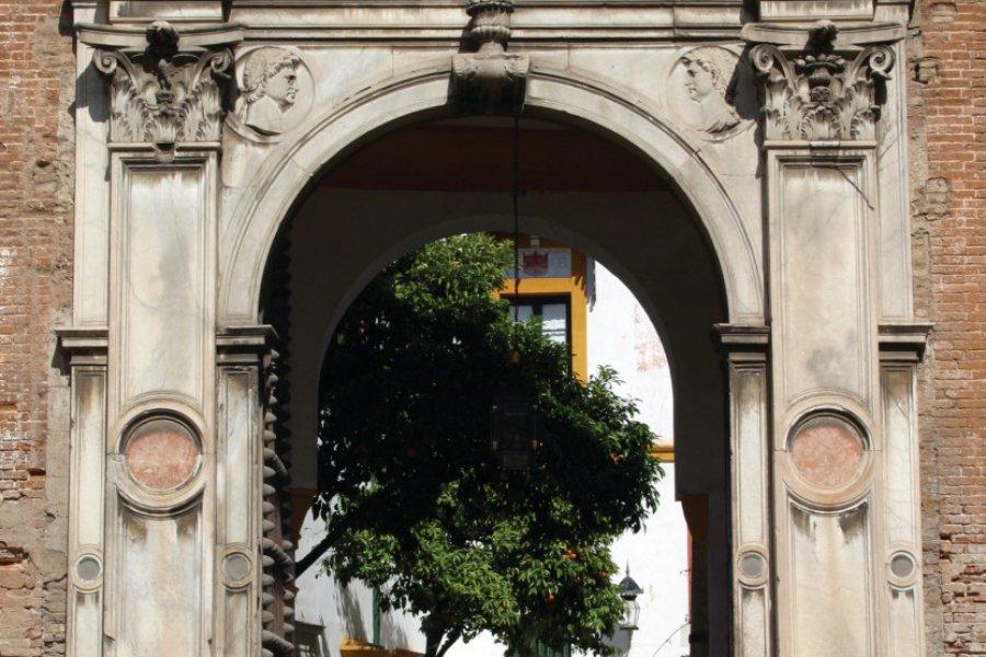 Porte principale de la Casa de Pilatos. (© CASA DE PILATOS))