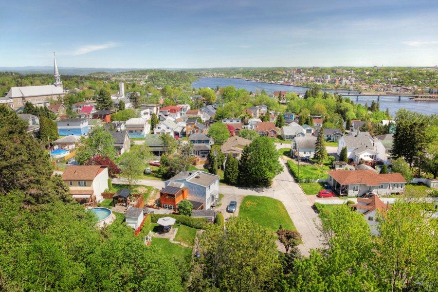 Ville de Saguenay, secteur Chicoutimi. (© Almanino - Shutterstock.com))